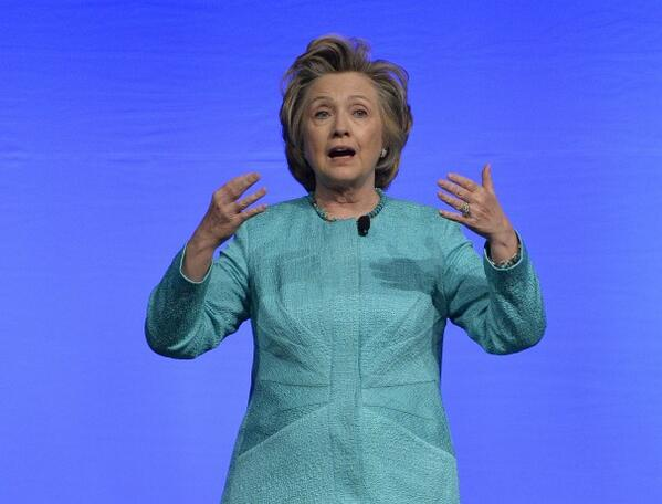 """She's definitely running // """"@TheFix: Hillary Clinton is talking about her faith. http://t.co/CTLXH3p2fb http://t.co/SkEtjWwBGy"""""""