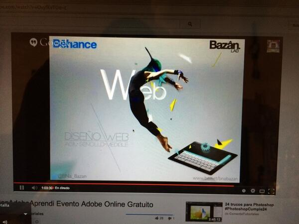 #ConAdobeAprendi donde es mejor crear sinergías en Bēhance con @AdobeMx http://t.co/CoozzSMJix