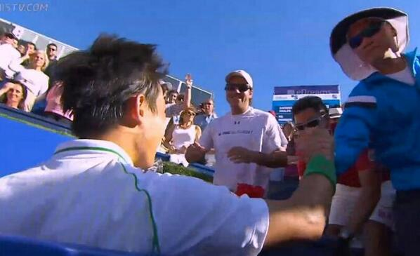 Kei Nishikori, 1st Japanese player to claim #Barcelona title as he dismantles Giraldo 62, 62; moves up to #12 in #ATP http://t.co/J1Z5n8nwUb
