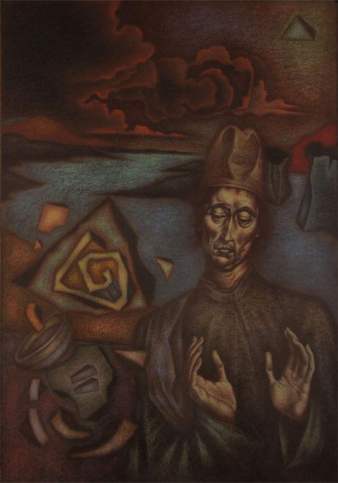 """Denis Bezmelnitsin - """"Metaphysician"""": http://t.co/AS6QBAei34 http://t.co/7T3K9o7cI4"""