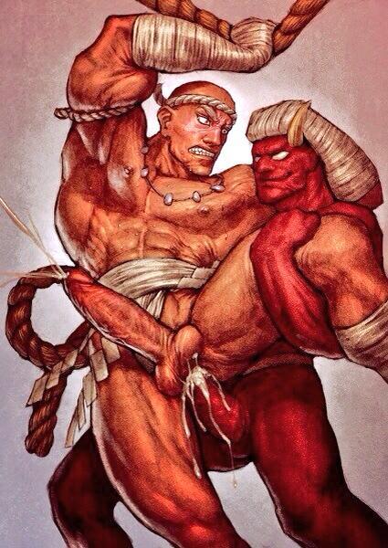 Tapones a tope gay demonio