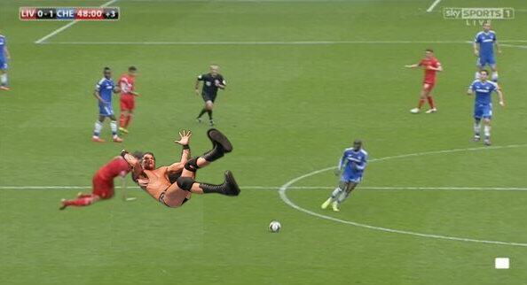 BmPcDMQCIAA6pqH Steven Gerrard slips Memes & Jokes flood the internet after Liverpool 0   Chelsea 2