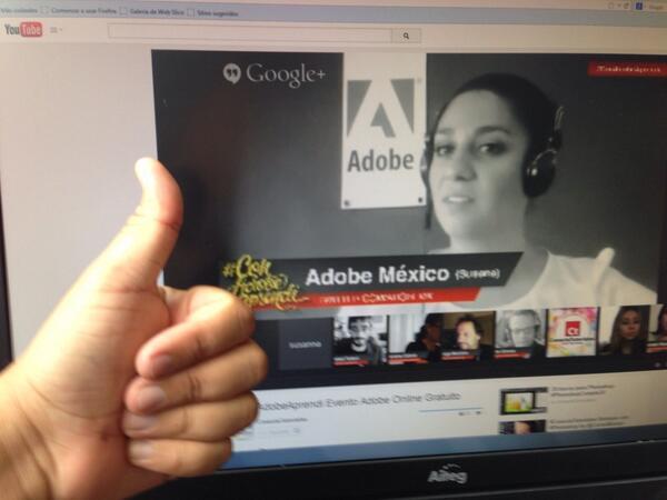 @AdobeLat @conecta @AdobeMx @marianacabralMX #ConAdobeAprendi http://t.co/Uhx9SlYmMv