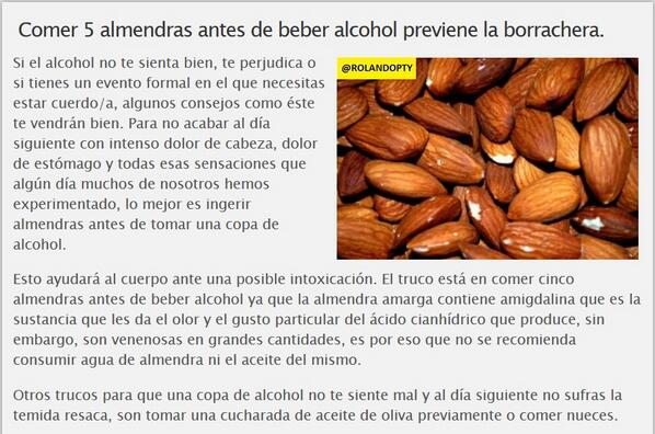 Trucos para no tomar alcohol