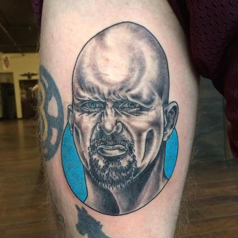 Reader gets Stone Cold Steve Austin Tattoo
