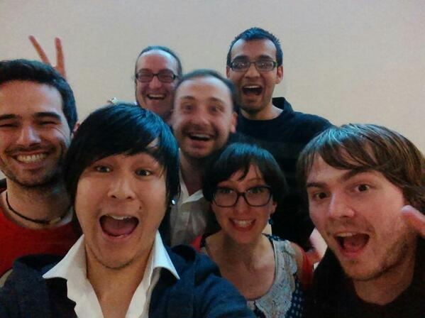 Team selfie @Glasgo_official #hackglasgow http://t.co/rveLcsrDV1