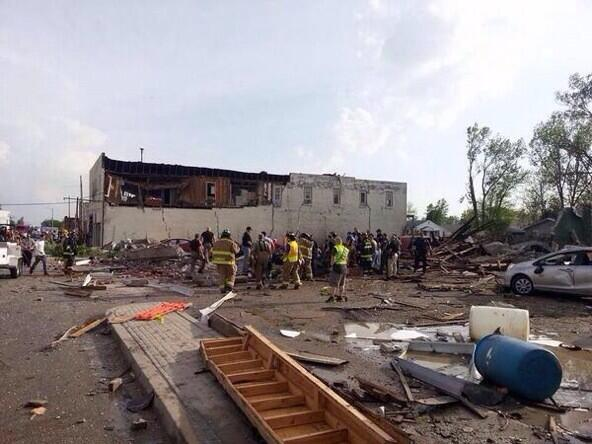 Sad news... @BrandonRHillger RT: @tulsaworld Two dead, fire station destroyed in Quapaw http://t.co/y72TfxkHSP  http://t.co/dOJEzIApaQ