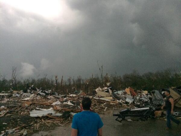 RT @Sean_Breslin: Our story on the deadly tornado that hit Mayflower, Ark. within the hour: http://t.co/H8CkikYBGa http://t.co/zJEJ95t0JC