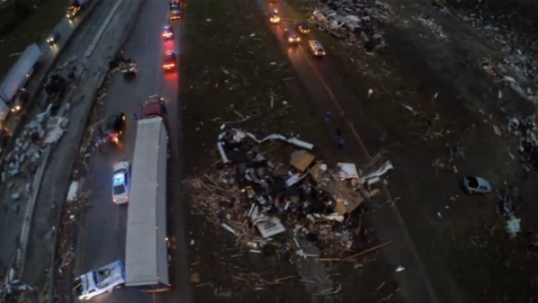 Another shot of @brianemfinger's drone footage from over I-40 (I believe). #arwx http://t.co/LOfF5uKbFx