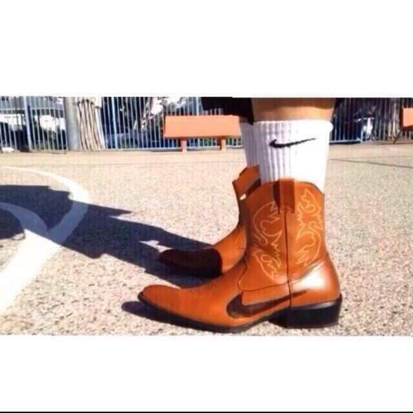 Nike made cowboy boots...