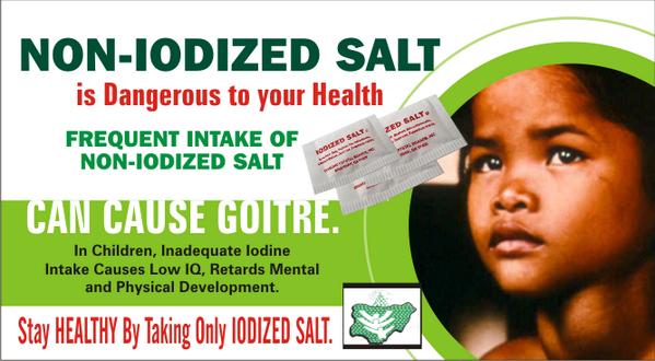 Image result for salt iodization nigeria