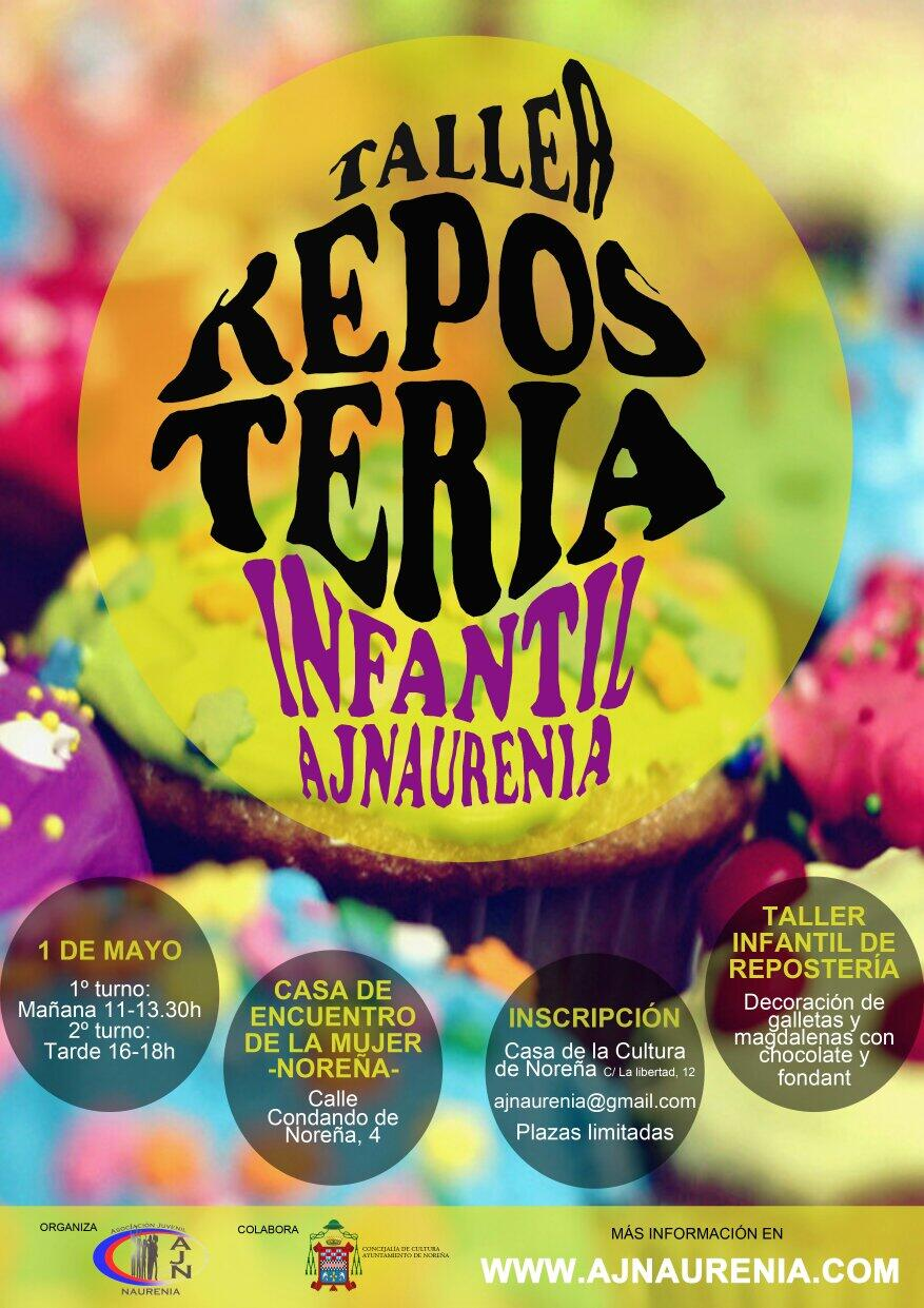 Asturias con niños a dónde vamos hoy? al Taller de repostería gratuito