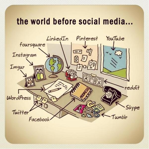 The World Before Social Media http://t.co/osYzGhWTdu