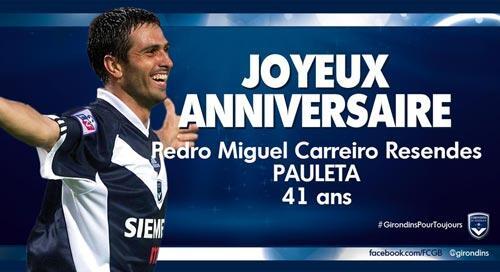 41 ans pour Pauleta !
