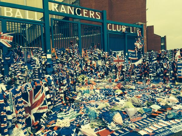 Called round to see the gates on a wee break for lunch today. Absolutely amazing. http://t.co/pnto78kdpT