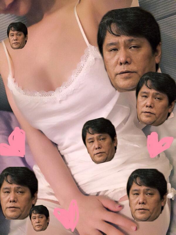 私もやって見た✩@amoshiratama  私の体と、佐村河内守。 http://t.co/LNPKx5BdjJ