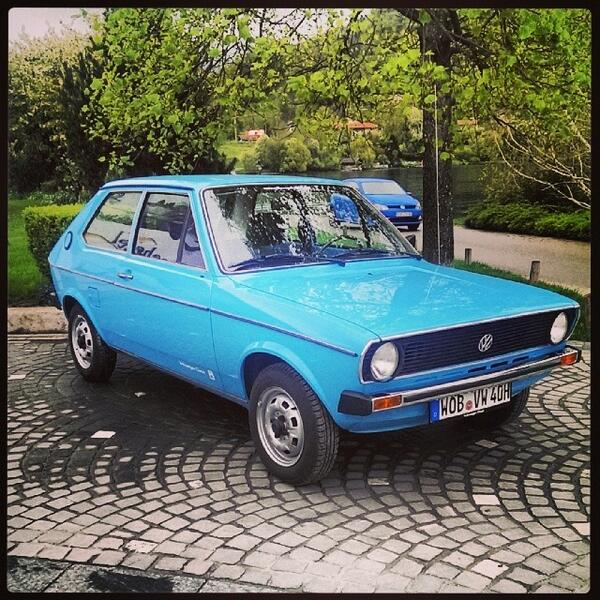 New Testride. Audi 50. Sorry. The first Polo. Of course http://t.co/7wapJUTMLB http://t.co/a3kBnYRQtu