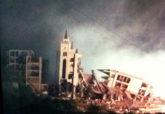 Thumbnail for Sanjiang church demolished