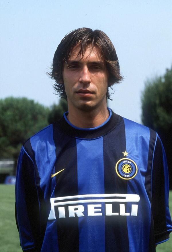 """These Football Times on Twitter: """"A young Andrea Pirlo at @Inter ..."""