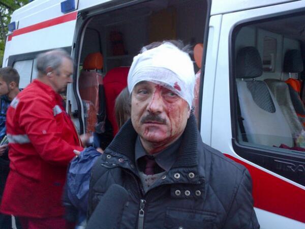 В кровавом разгоне митинга в Донецке пострадали минимум 14 человек - Цензор.НЕТ 8302