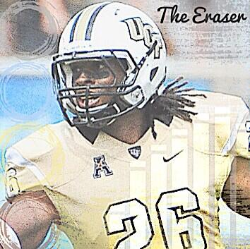 The Eraser. UCF Defense. Where champions play. #ucffootball #ucf
