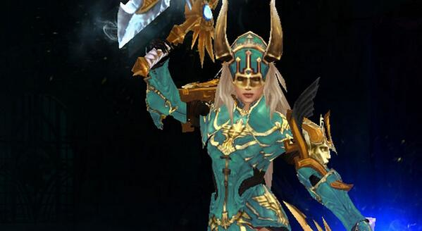 Lagbot On Twitter Sexy Female Monk Goldblue Diablo3