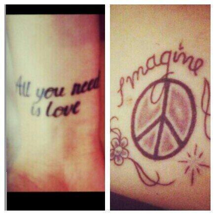 Tini Stoessel y su nuevo tatuaje ☮ BmVJ1HWCUAE5XfW