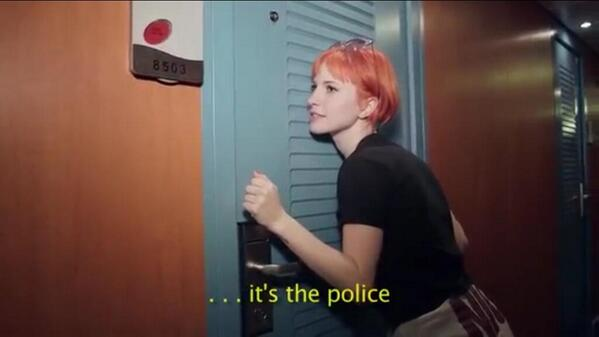 Check out Hayley being 'the toilet paper police' on PARAHOY! - https://t.co/JbjlJevXox http://t.co/C5vktquFHo