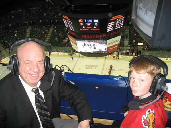 After more than 30 years, Peter Maher, the voice of the #Flames, will retire tomorrow. More to come ... http://t.co/fDYh5YteNC