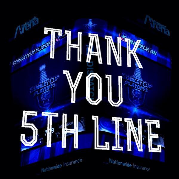 What a season!  #CBJ #WeAreThe5thLine http://t.co/yzxC7LHFQH