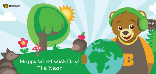 Today is World Wish Day! What would be your wish for a better world? http://t.co/GTGdH1mD4d