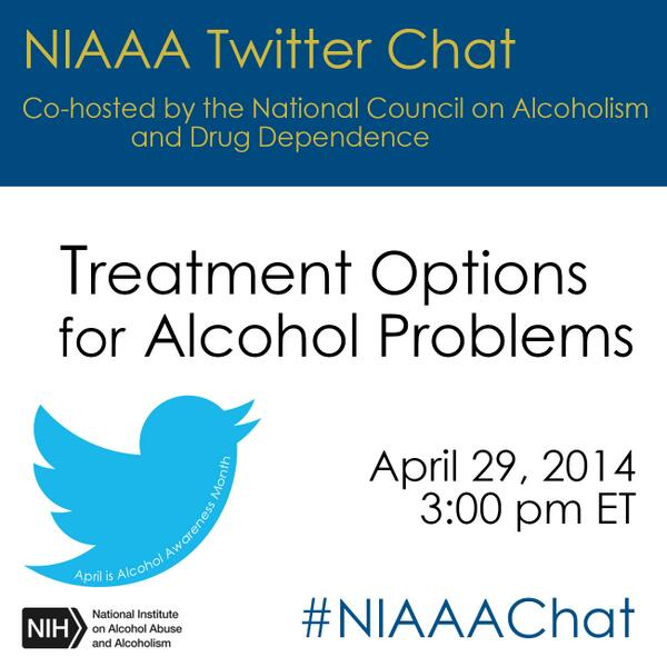 Studies show that abt 1/3 of people treated for alcohol problems have no further symptoms 1 yr later #NIAAAchat, 3PM http://t.co/1jhET9Pgfa