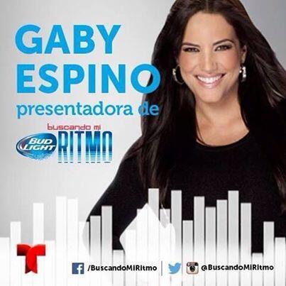 Gran estreno de @BuscandoMiRitmo  el sábado 19 de julio a las 6PM/5C por @Telemundo con @gabyespino ! http://t.co/QVGladW5Gp