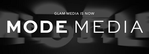 Excited to announce that #GlamMedia is now @ModeMedia! http://t.co/0cF5ptzuRW #ModeMedia #NewFronts http://t.co/LAtfwinTji
