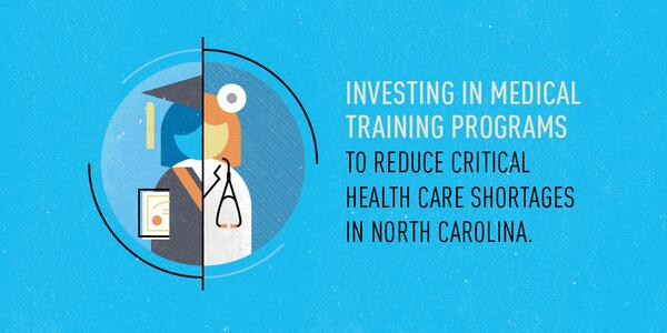1M in NC live w/o adequate access to health care. So we're investing in NC http://t.co/lX7iS1pZ4D #letstalkcost. http://t.co/Q95ooqvAqQ