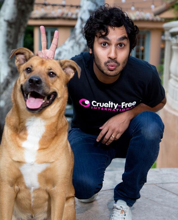 We are delighted to have the support of @kunalnayyar (and Boba!) for our global campaign http://t.co/Mpy40Cmt9k