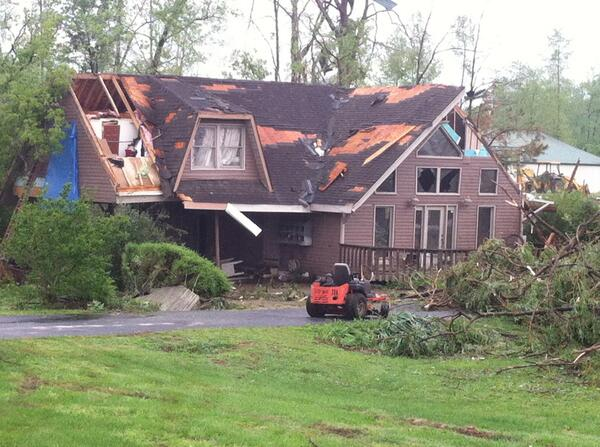 Thumbnail for Storms hit Tennessee bringing damage and deaths