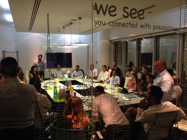 Happy to be hanging out with the Turks at the @etohum meet up in Dubai - thanks @burakbuyukdemir :) http://t.co/wFRXSourmn