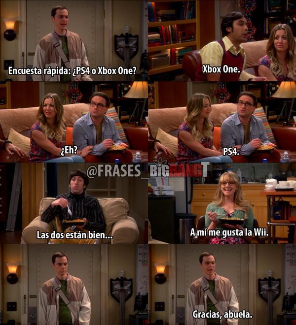 The Big Bang Theory On Twitter Tú Cuál Prefieres