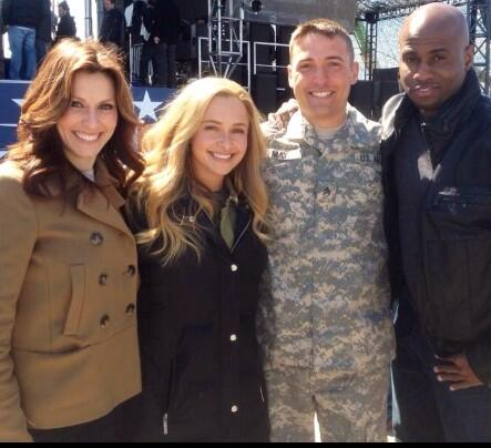 Tonight! MT @MelvinKearney: Tune into @Nashville_ABC on ABC. S/O to all the Soldiers,Veterans & their Families. http://t.co/XqsXmiuJd0