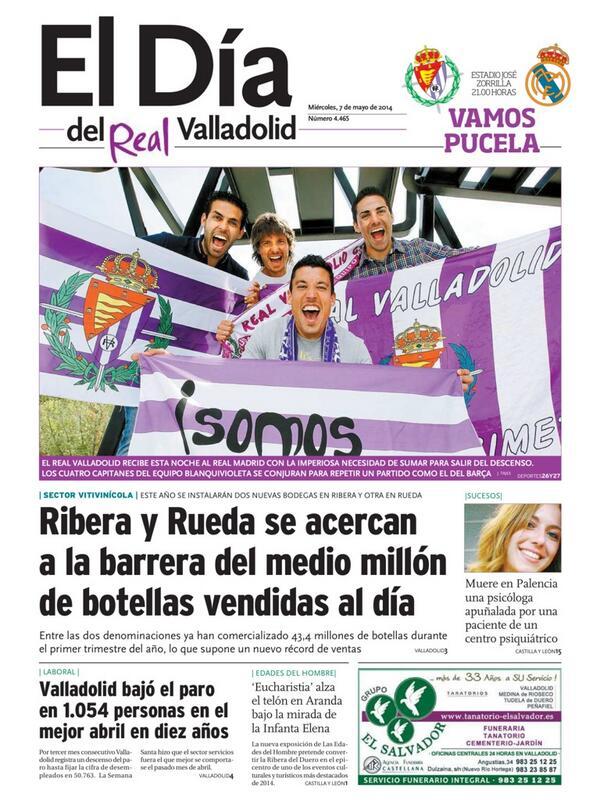 JORNADA 34. REAL VALLADOLID - REAL MADRID. Miércoles 7 de mayo. 21:00 Bm_AVWECQAAzmCS