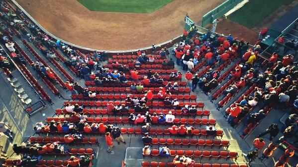 My view from the top of the Green Monster. #teamlumia http://t.co/kf9AYE0vHa