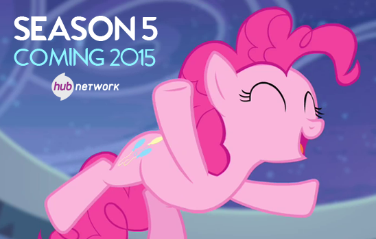 BREAKING: #MLPSeason5, coming 2015!! RT if you already can't wait! http://t.co/6oZEBArLxM