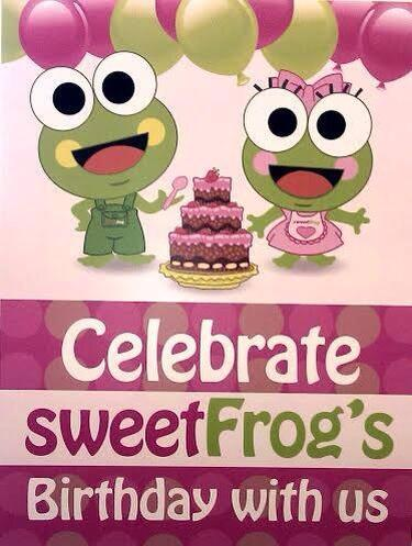 Sweet frog coupons 2018