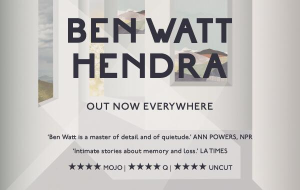 Out everywhere today - @ben_watt's new solo album 'Hendra'. ⭐️⭐️⭐️⭐️ reviews everywhere. http://t.co/JBqSnvIN8w http://t.co/znqfUnnS3X