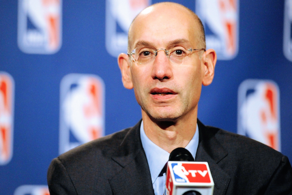 A defining moment of leadership by Brother Adam Silver. http://t.co/M877trRfLK