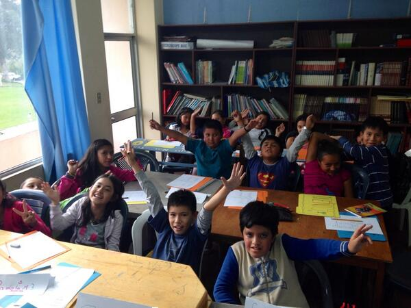 Great first day in my Advanced Children's English class (level 3 of 4) http://t.co/92kAZnBvC4