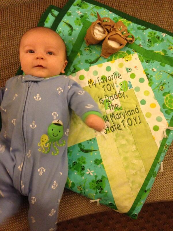 Silas thanks our STOY family for his beautiful, thoughtful gifts.  We'll treasure them! #NTOY14 http://t.co/eqPPkURlaw
