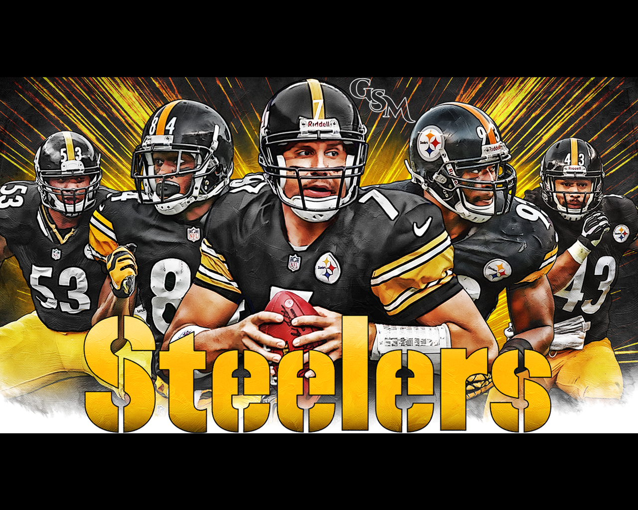 """Here S A Wallpaper I Made Pubattlegrounds: Brian Konnick On Twitter: """"@steelers Here's A Steelers"""