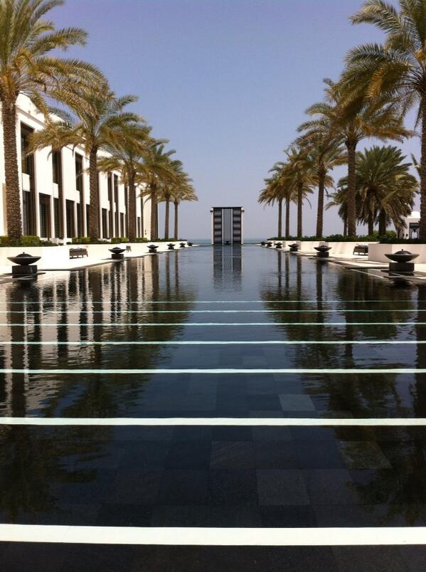 I have been waiting for you all my life... The long pool at The Chedi #BestSwims @uktraveleditor http://t.co/gtEOQD3guX
